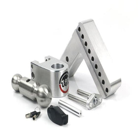 Weigh Safe 180 Drop Hitch, 2.5