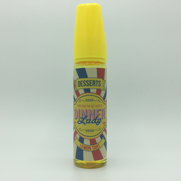Dinner Lady - Lemon Tart - Dessers - 0mg/ml 50ml