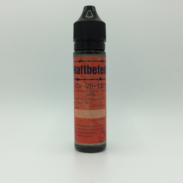 VapeHansa - VH-1203 Ultimative TacTic - Haftbefehl! - 0mg/ml 10ml