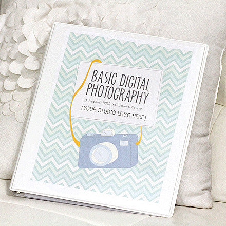 Basic Digital Photography Course Curriculum Bundle
