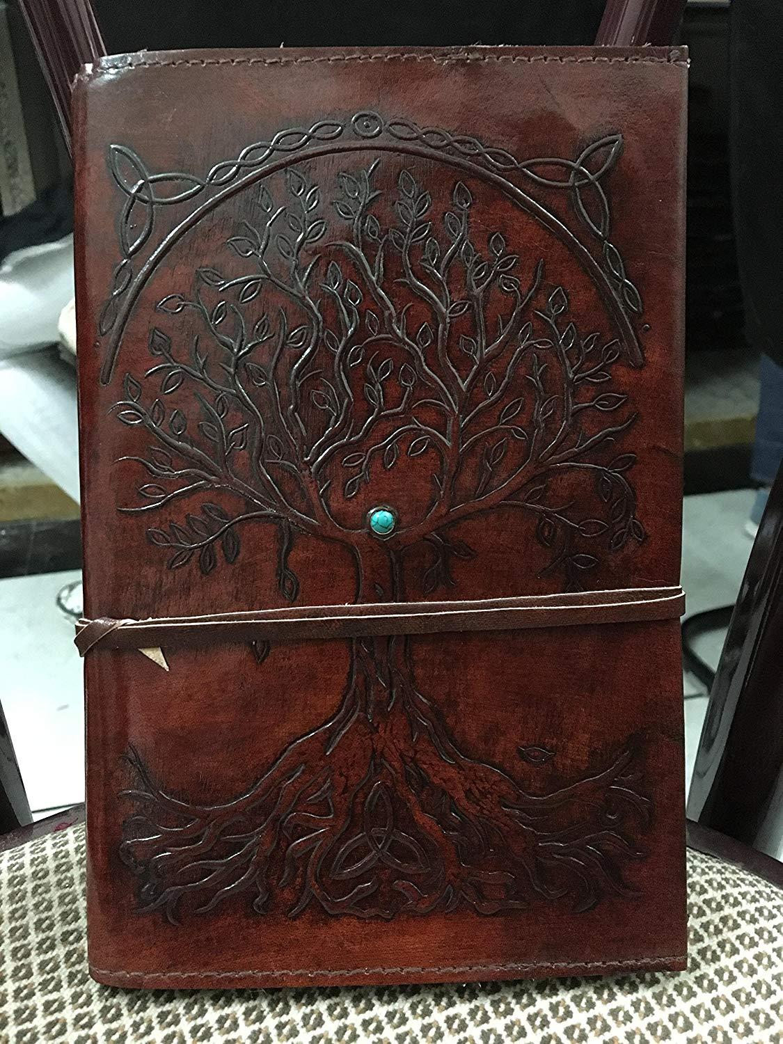 refillable leather journals