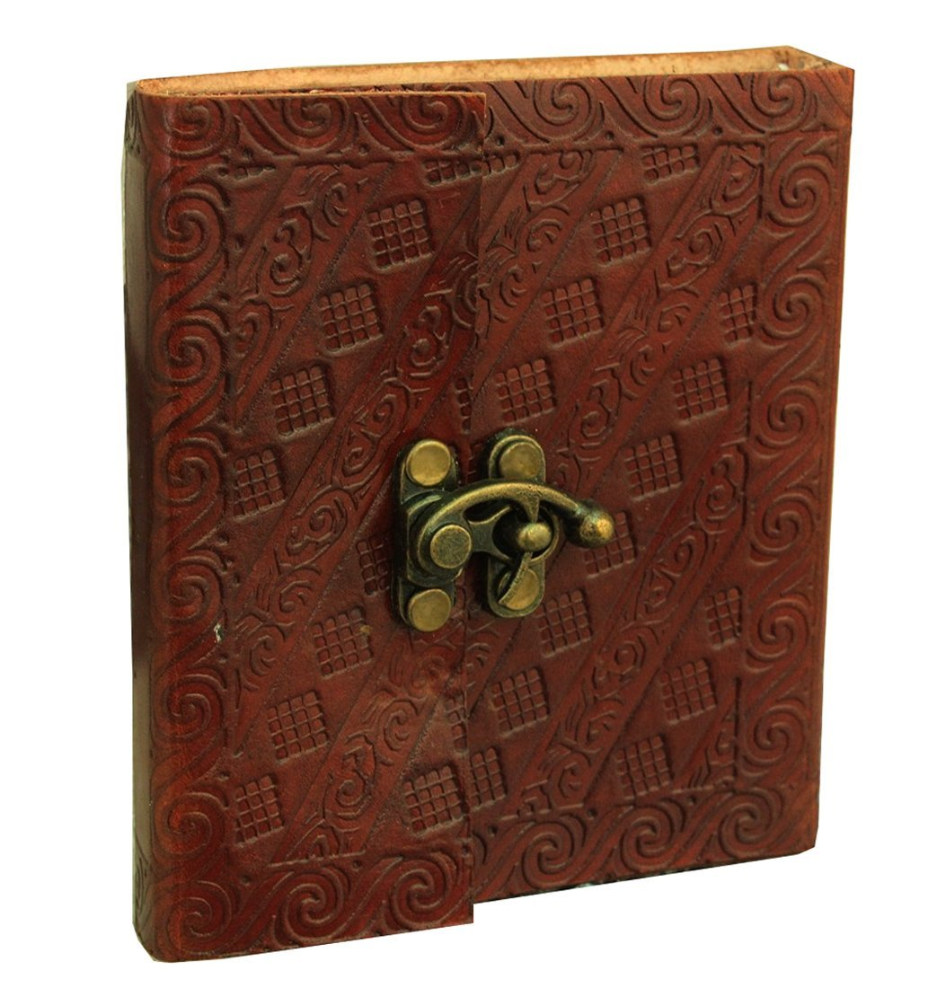 vintage leather journal personalized