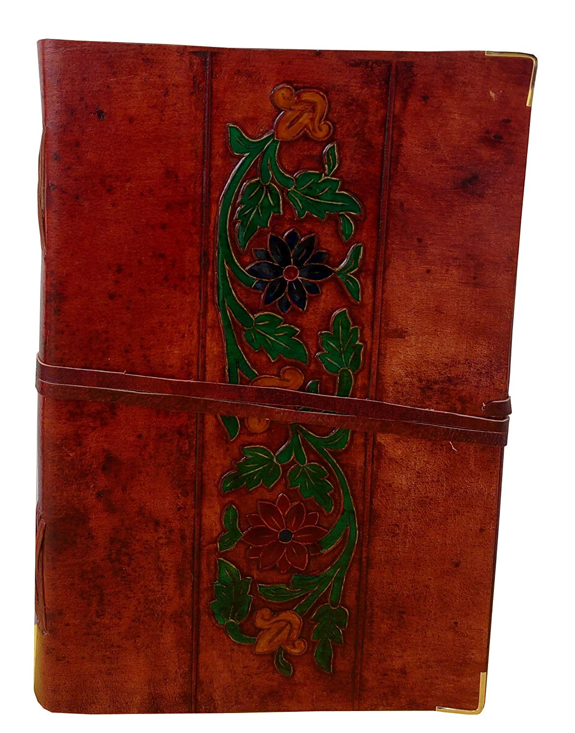 handmade leather writing journals