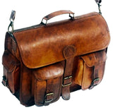 Two Pocket Leather Bag