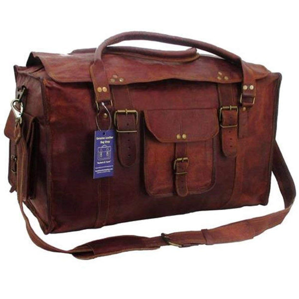 Leather Duffle Bag - Buy Leather Duffle Bag for Men Online in USA