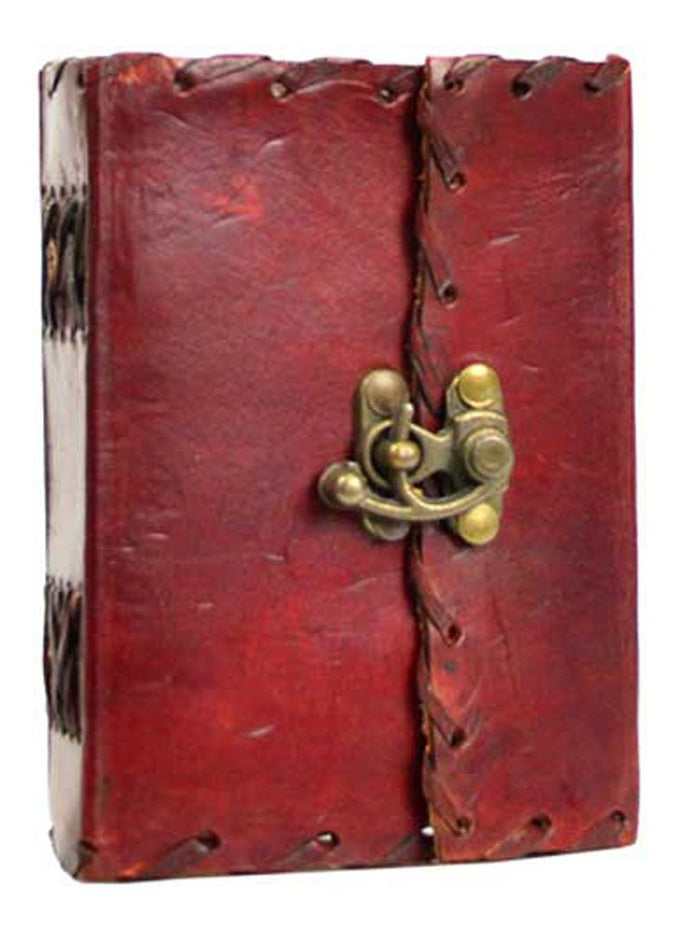 Small 1842 Poetry Leather Blank Book - cuerobags