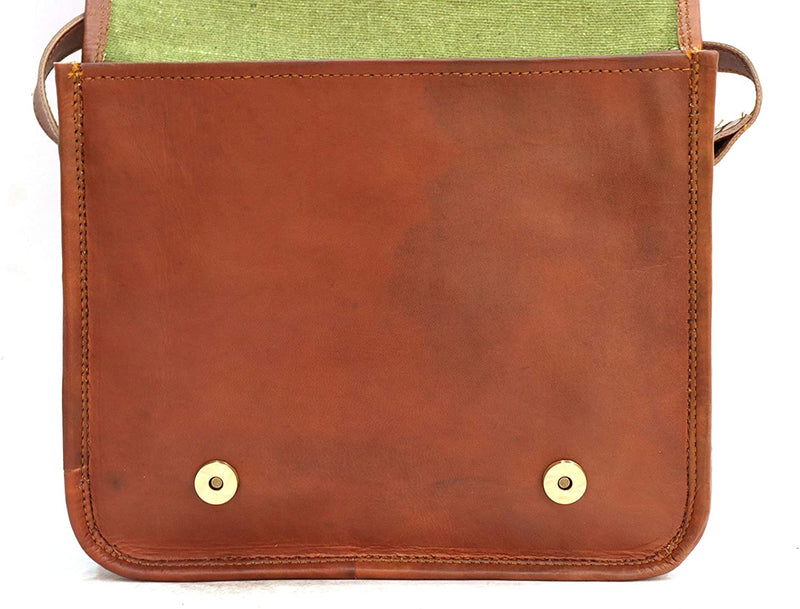 11 inch Small Handmade Crossbody Shoulder Leather Bag