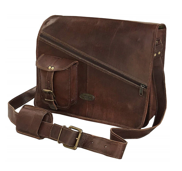messenger bags for men | Distressed Satchel Shoulder Bag | best leather briefcases for men