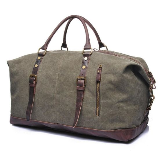 best leather duffle bag