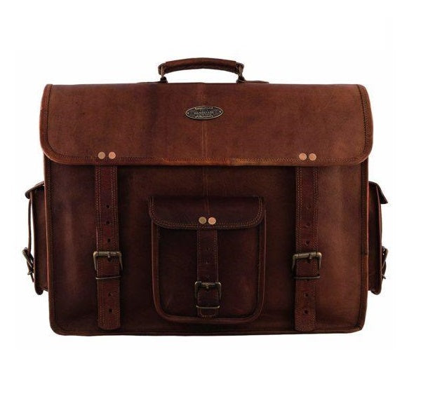 Rugged Leather Bag