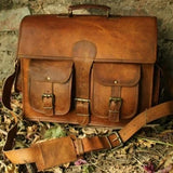 Agile Satchel Leather Bag