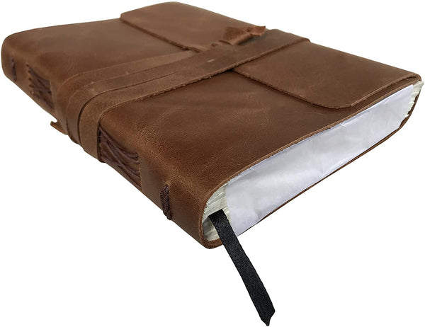 Leather Journal Writing Notebook Vintage Brown