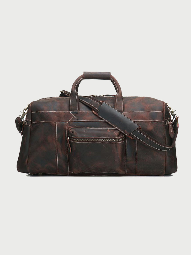 Leather Travel Bag - cuerobags