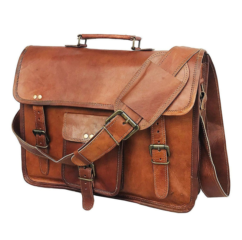 Vintage Satchel Messenger Bag