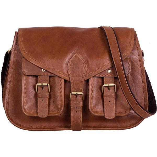 Genuine leather shoulder bags - 14 Inch Leather Purse Women Shoulder Bag Crossbody Satchel Ladies Tote