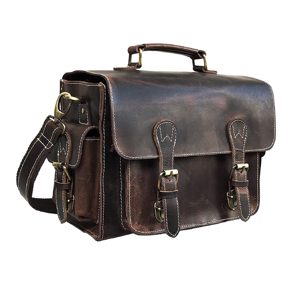 DSLR Camera Leather Bag