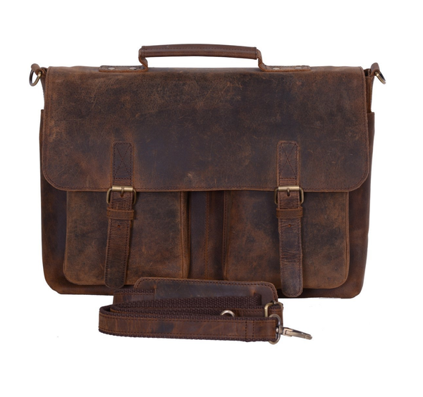 Retro Buffalo Leather Bag