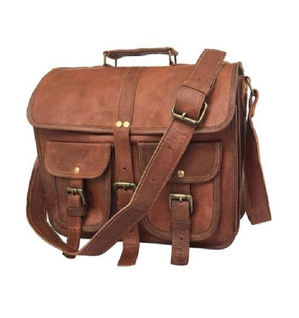 Distressed Satchel Bag