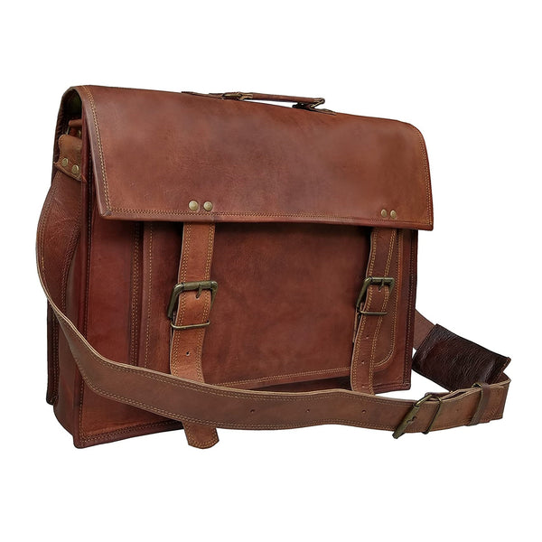 Hudson Leather Bag | Buy leather briefcase online