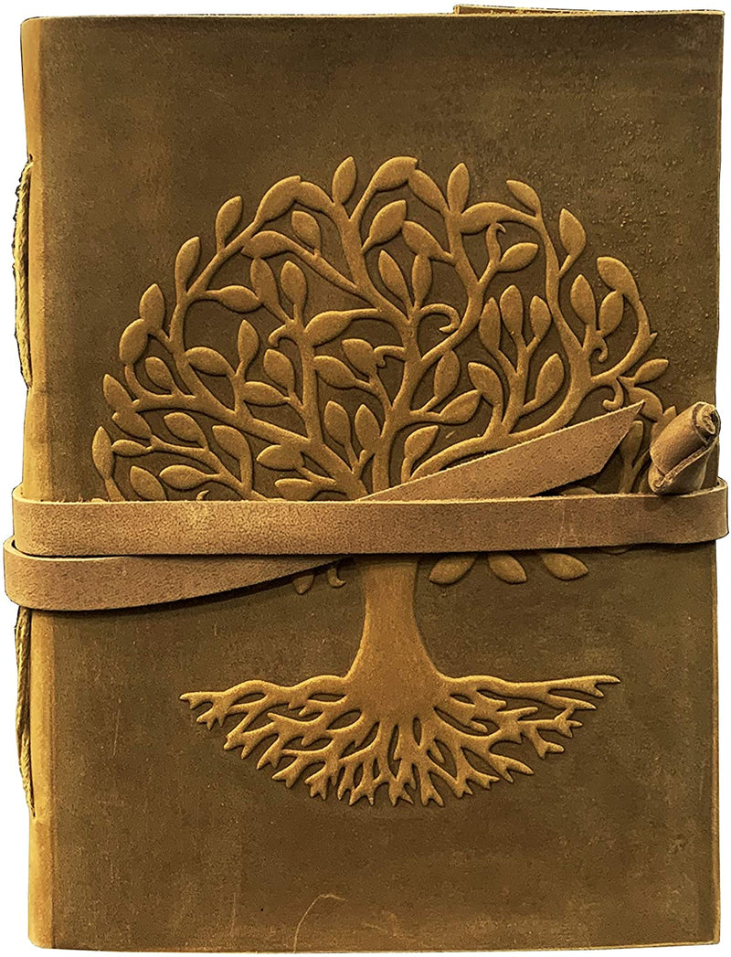 Unisex Leather Journal Tree of Life