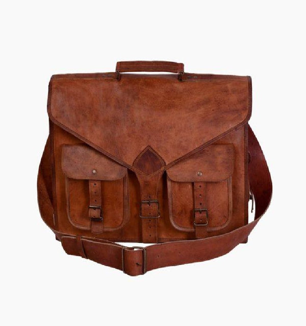 Buy leather suitcase | Rustic Leather Messenger Bag | vintage leather briefcase