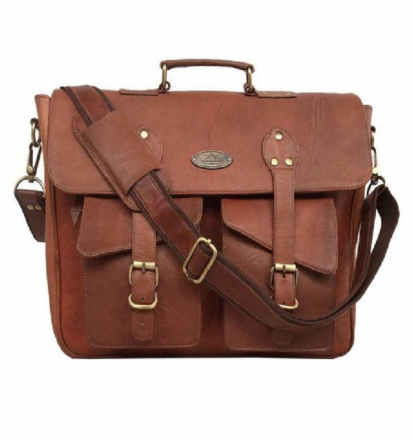 Rustic Vintage Messenger Bag