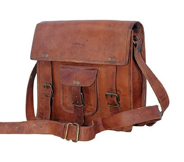 Top Grain Leather Ipad Bag