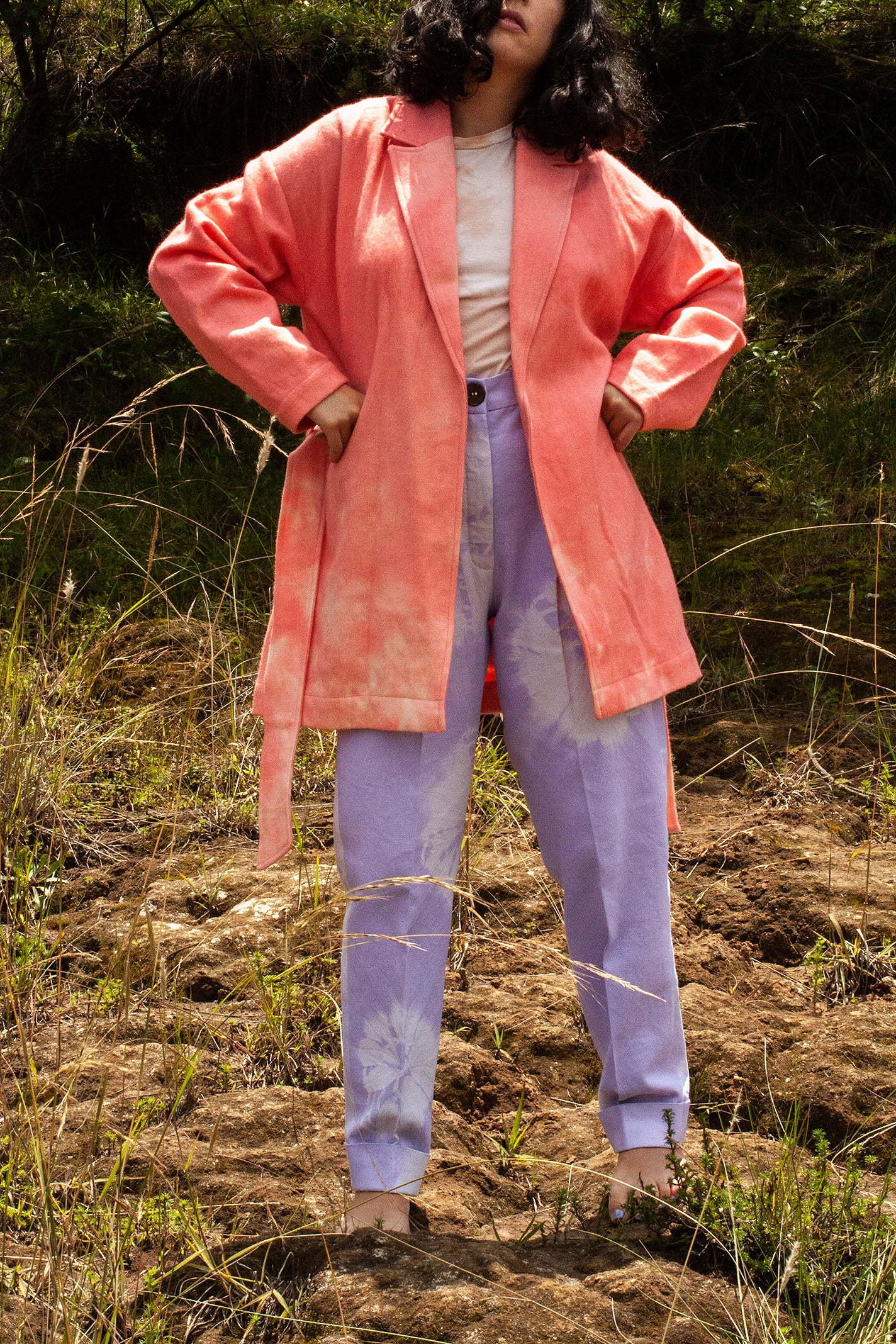 Cochineal Wrap Coat