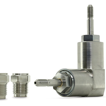 "3000201: Swivel: 1/4"" Dual Axis 90° High Pressure"