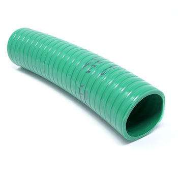 "3001435: 1-1/2"" PVC Green Suction Hose"