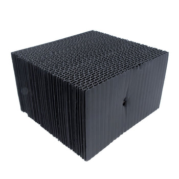 "WJ-1549-54: Water Only Bricks 4"" high x 6"" wide x 54"" long (Black)"