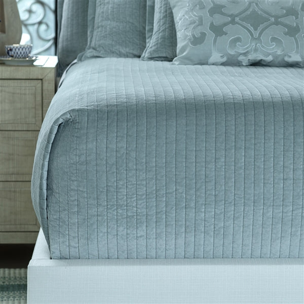 The Aria Quilted Coverlet