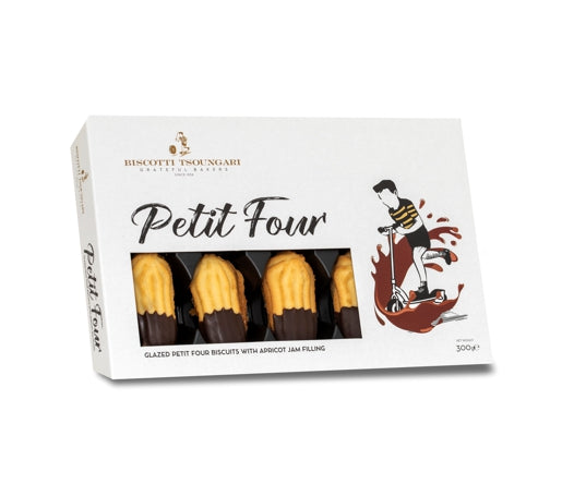 Glazed Petit Four with Apricot Jam 300g
