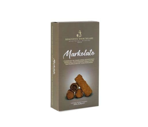 Markolato Wafer Roll w/ Hazelnut Cream 140g