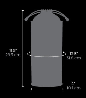 Measurements of the Steriliser Pouch at The Cowgirl Shop