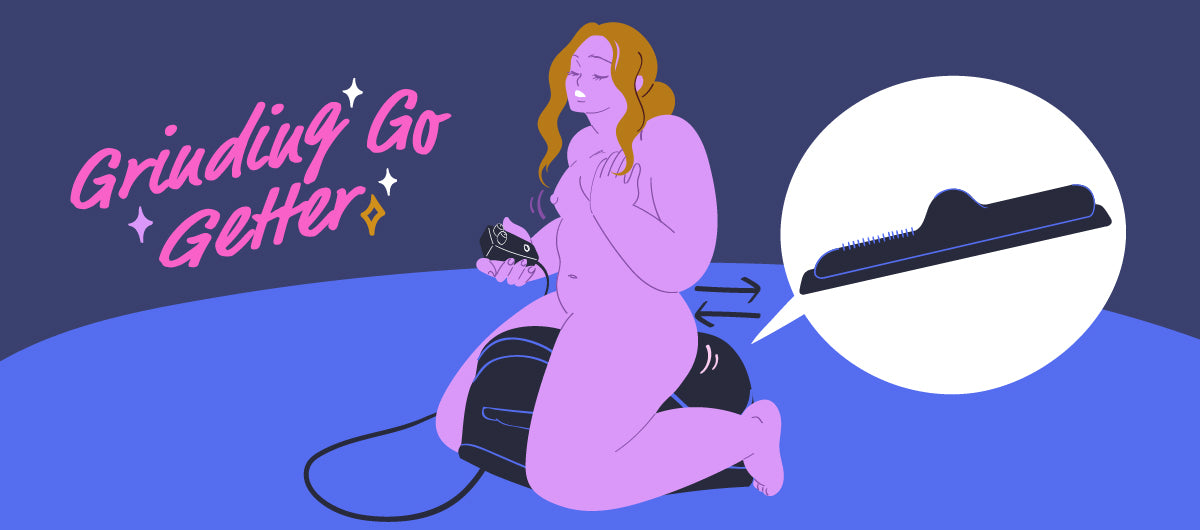 Solo Sex Positions with the Cowgirl Sex Machine - Grinding Go Getter