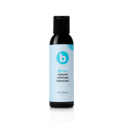 b-Vibe Natural Water-Based Lubricant 4 fl.oz. (118 mL) - The Cowgirl Sex Machine