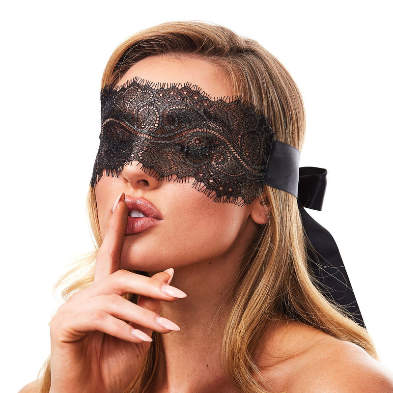 Lace Eye Mask for sensual play at The Cowgirl Shop