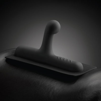 Lone Ranger - G-Spot & P-Spot Silicone Attachment Black - The Cowgirl Sex Machine