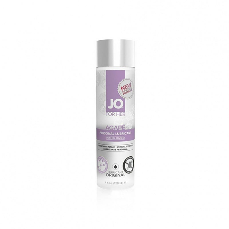 System JO AGAPÉ Original Water-Based Personal Lube 2 oz - The Cowgirl Shop