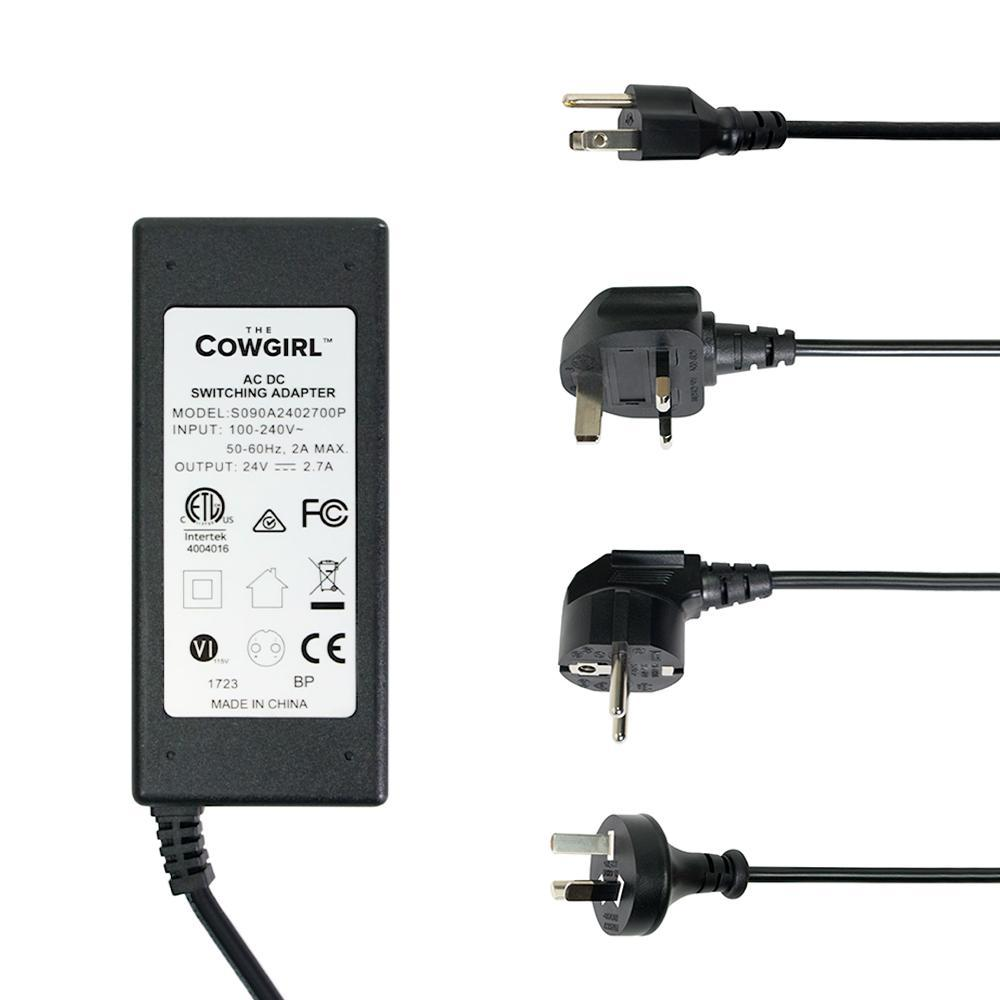 Universal A/C Power Adapter (Includes US, UK, EU and AUS cords) - The Cowgirl Sex Machine