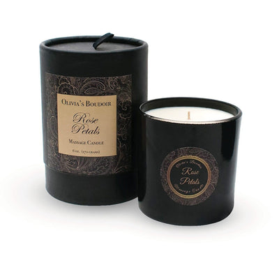 Olivia's Boudoir French Vanilla Massage Candle at The Cowgirl Shop