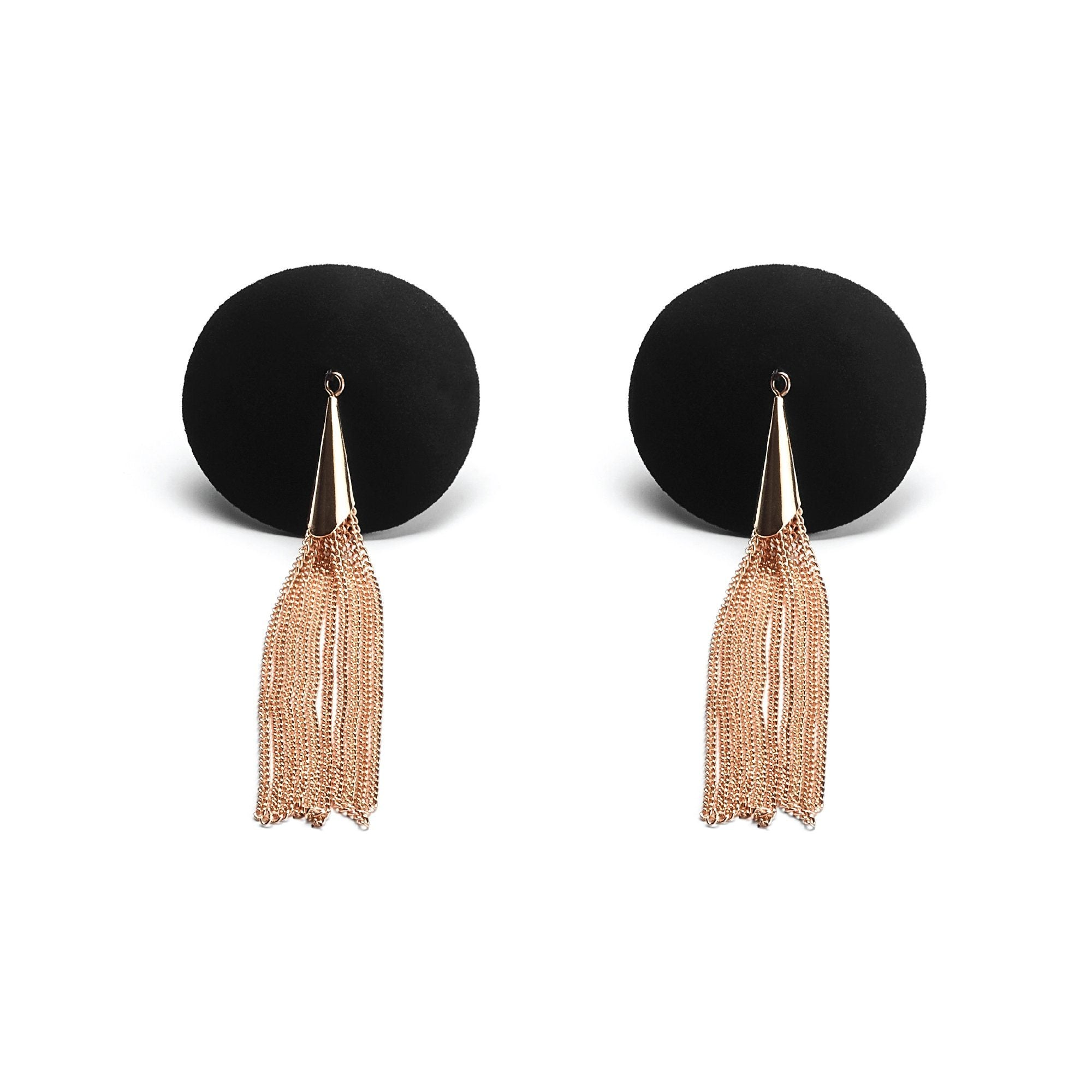 Vinyl Pasties with Rose Gold Tassels at The Cowgirl Shop