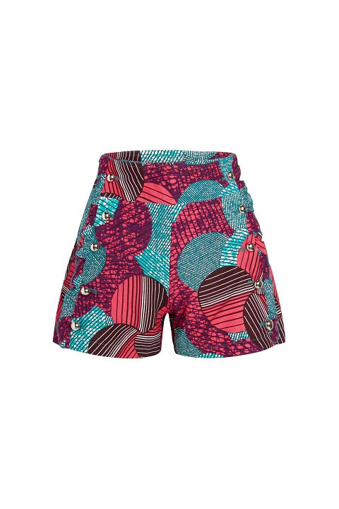 Ankara Prints Short