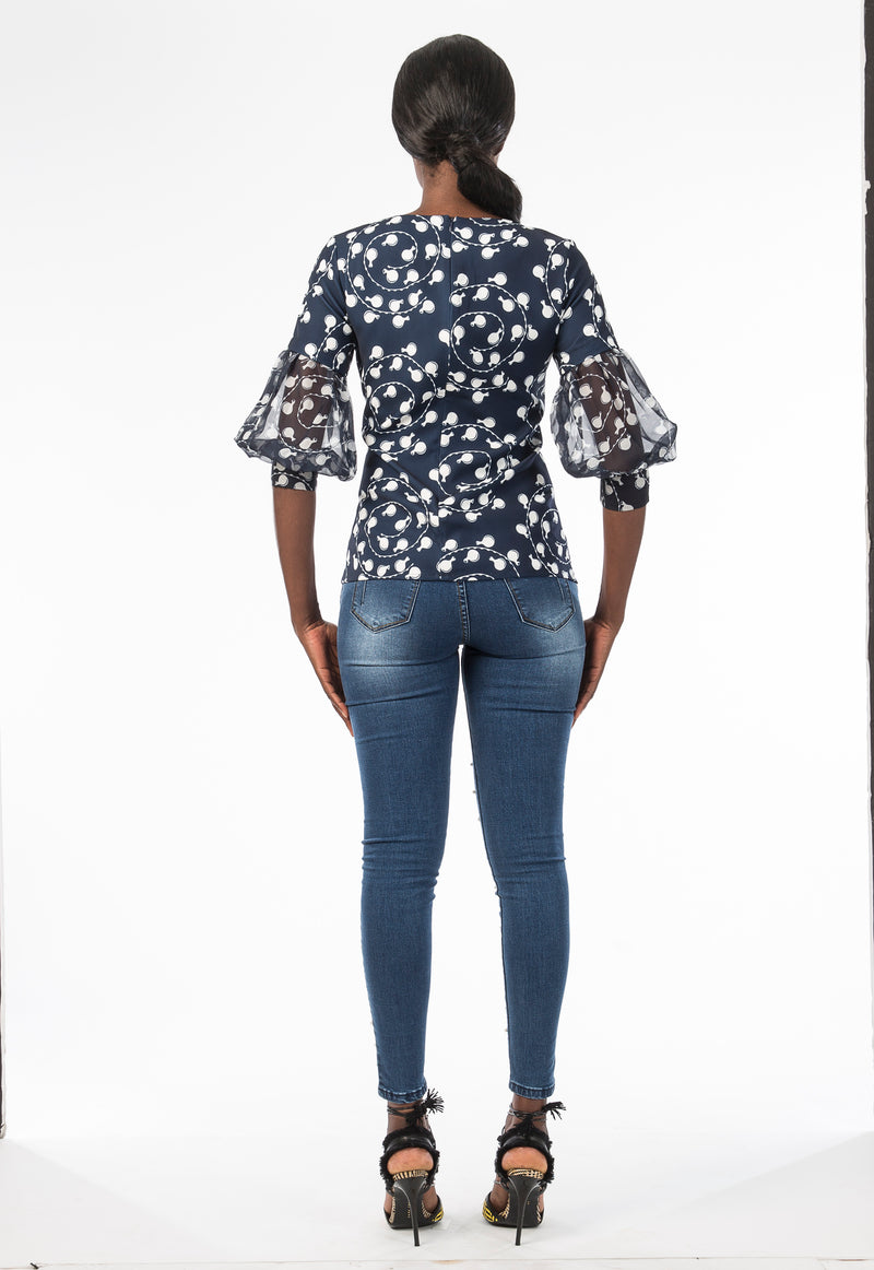 Calabash Classic Lace Top