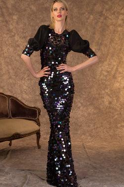 Sequin Rain Dress