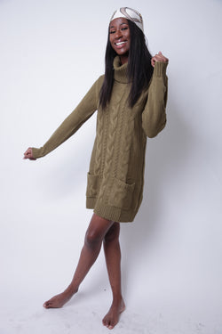 Kool Turtle Neck Dress