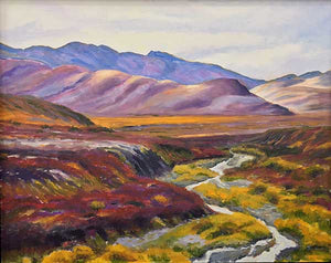 Oil Painting of The Yukon