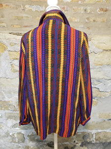 Saks Fifth Avenue Vintage Multi-color Blouse Sz 18