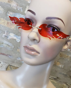 Red Flame Sunnies